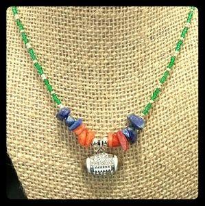 Jewelry - Broncos necklace